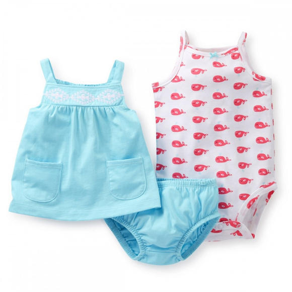 Carters Baby Girl Clothes Summer Outfit 3 6 Months Nwt